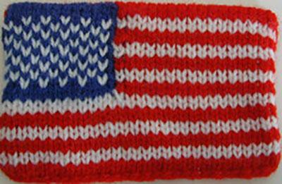 MKF002-Mini American Flag