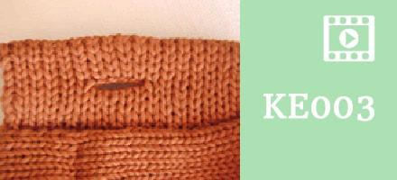 KE003 – Button Holes [Sample]